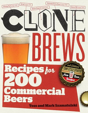 Clone Brews: Recipes for 200 Commercial Beers at werd.com