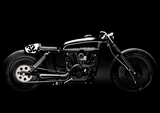 Club Black Harley Davidson Sportster at werd.com