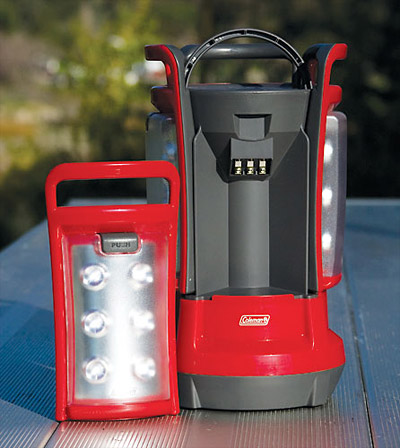 Coleman LED Quad Lantern at werd.com