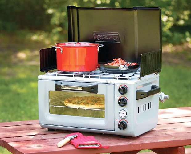 Coleman Outdoor Portable Oven/Stove at werd.com