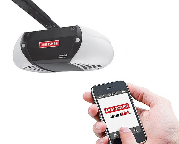 Craftsman AssureLink Garage Door Opener at werd.com