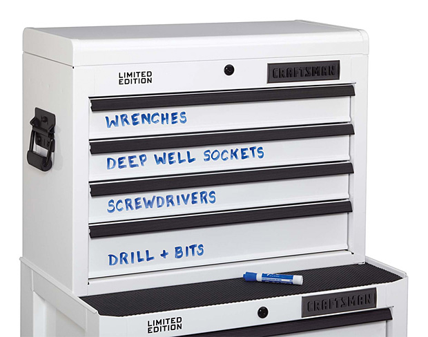 Craftsman Dry Erase Tool Storage at werd.com