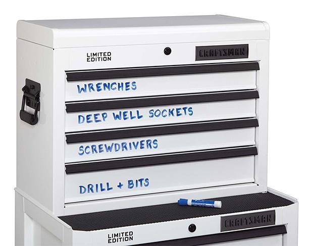 Craftsman Dry Erase Tool Storage at werd.com