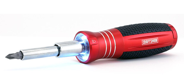 Craftsman LED-Lighted Screwdriver at werd.com