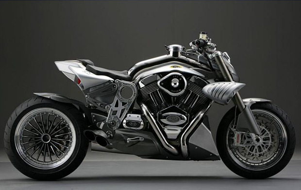 CR&S DUU Motorcycle at werd.com
