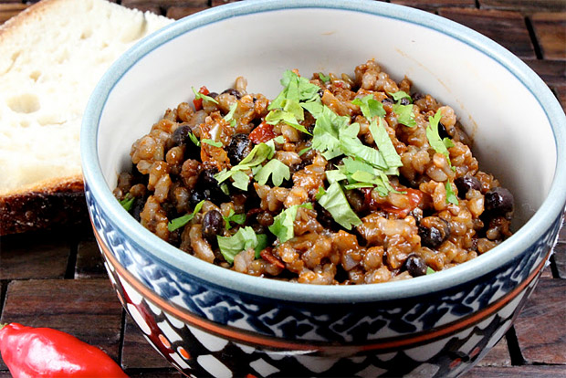 Cuban Style Rice and Beans at werd.com
