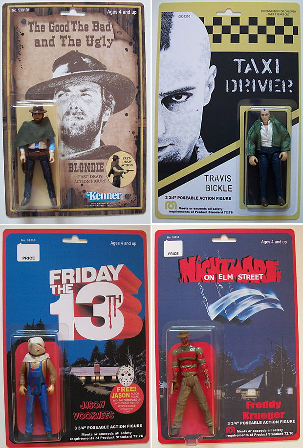 Custom Film Classic Action Figures at werd.com