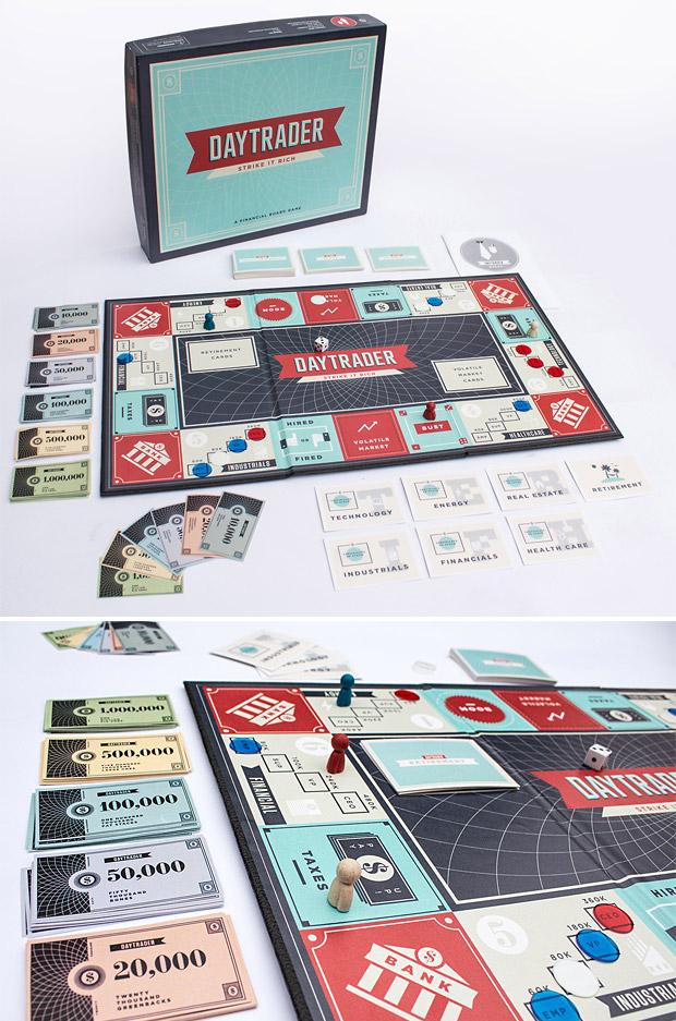 Daytrader – A Financial Board Game at werd.com