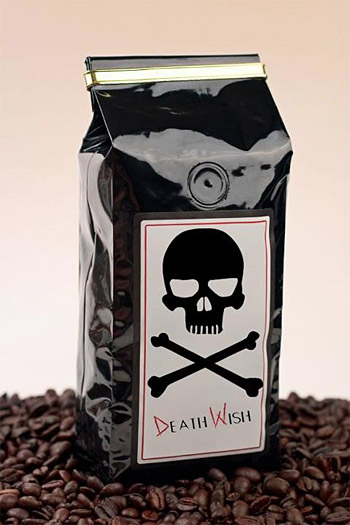 Death Wish Coffee at werd.com