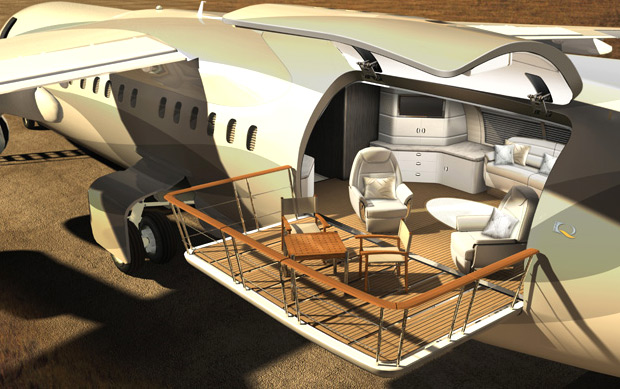 The Avro Business Jet Explorer Concept at werd.com