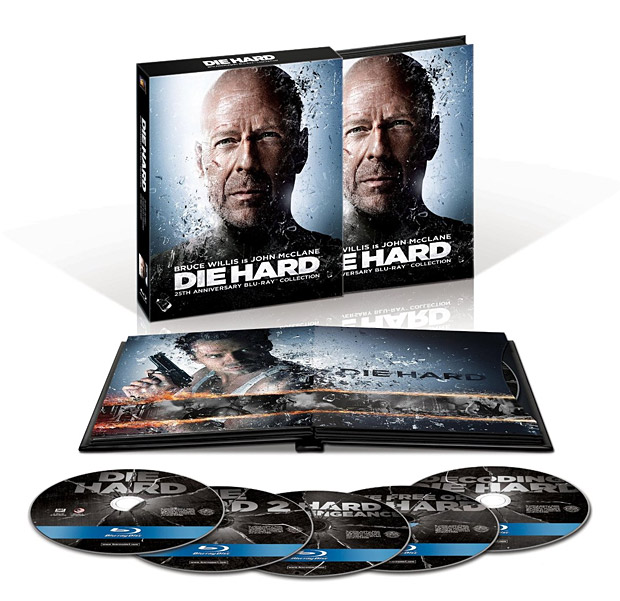 Die Hard: 25th Anniversary Blu-ray Collection at werd.com