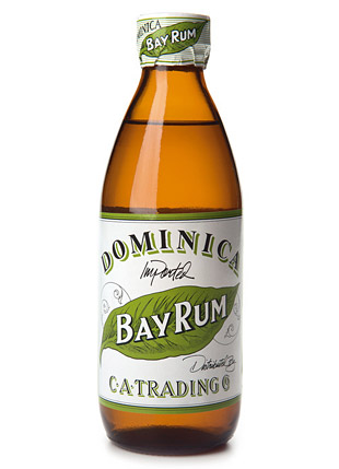 Dominica Bay Rum Aftershave at werd.com
