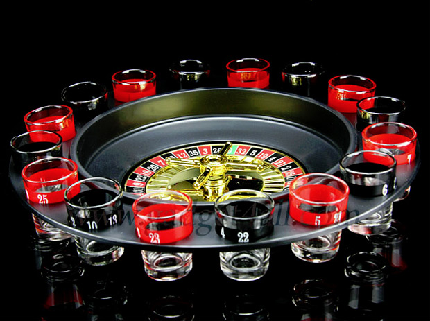 Drinking Roulette Set at werd.com