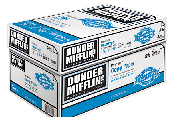 Dunder Mifflin Copy Paper at werd.com