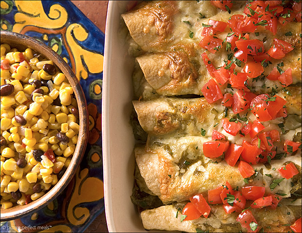 Easy Chicken Enchiladas at werd.com