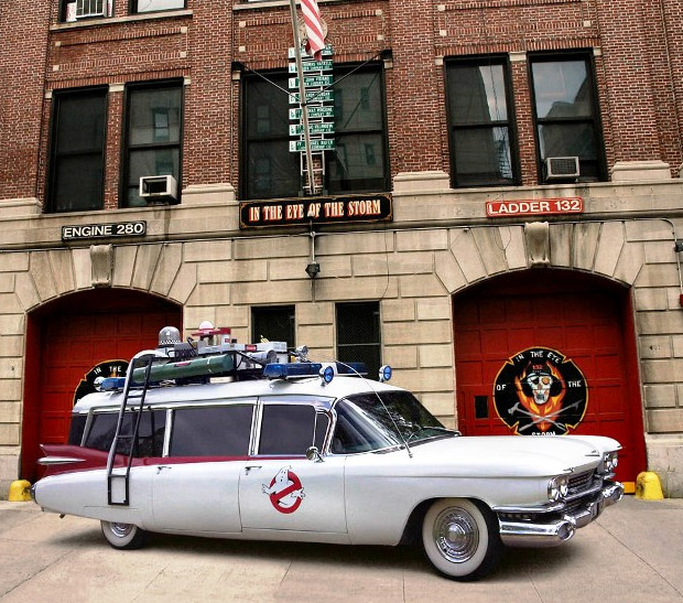 Ecto 1 from Ghostbusters Auction at werd.com