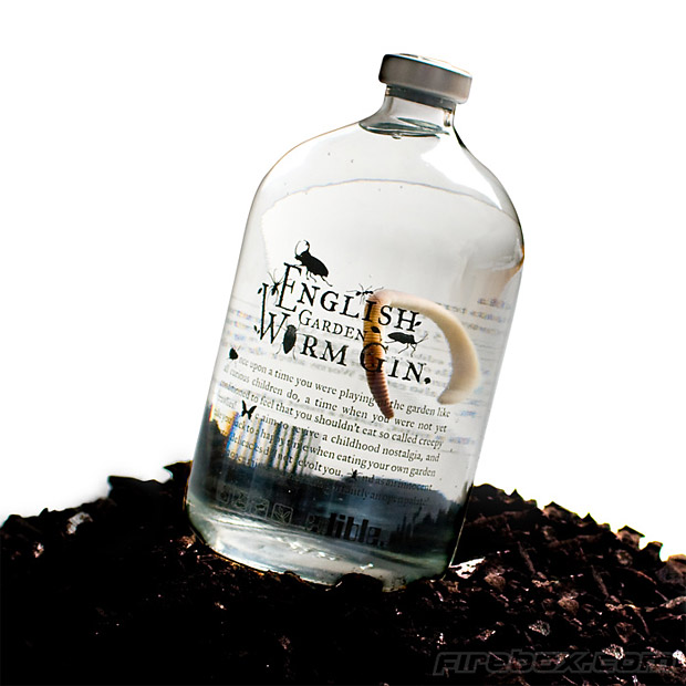 English Garden Worm Gin at werd.com