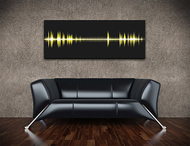 Epic Frequency Wall Art at werd.com