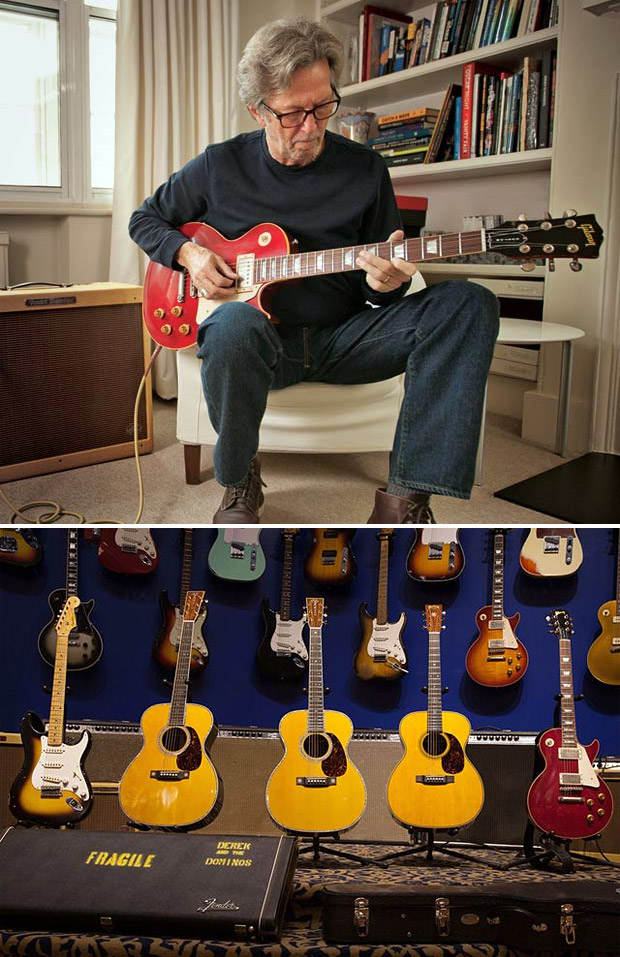 Eric Clapton Limited Edition Crossroads Guitar Collection at werd.com