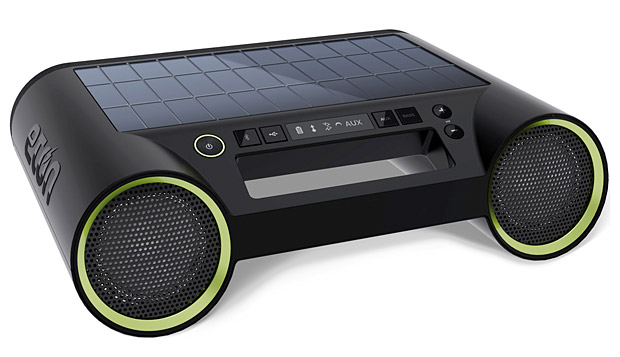 Eton Rukus Solar Bluetooth Boombox at werd.com
