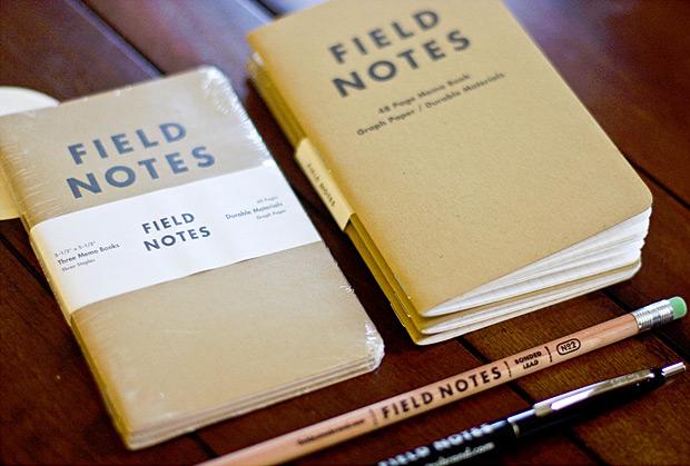 Field Notes at werd.com