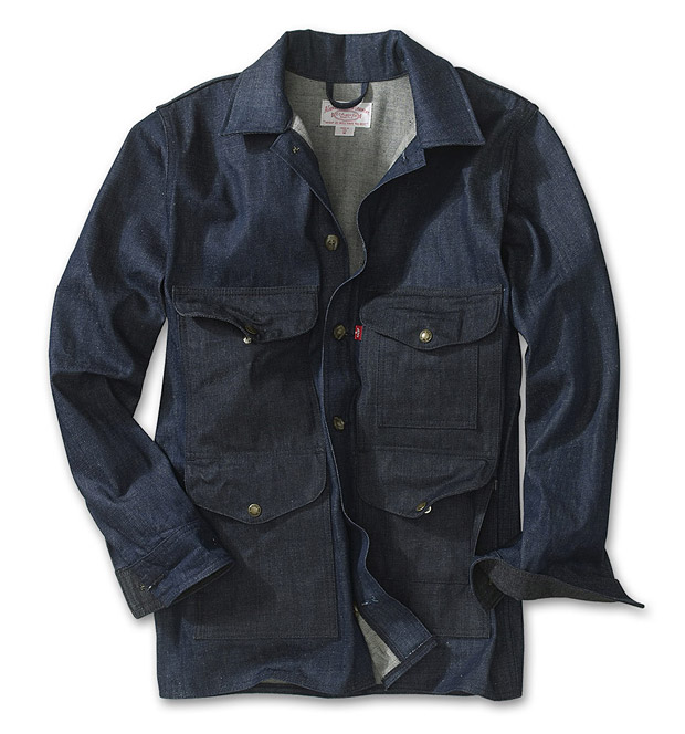 Filson Denim Cruiser Jacket at werd.com