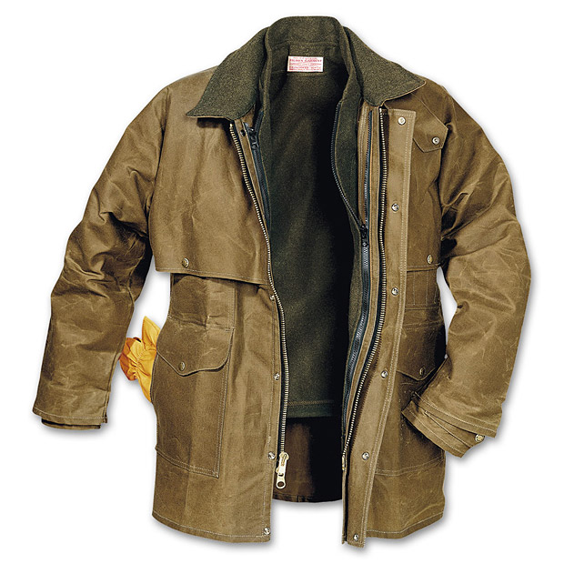 Filson Tin Cloth Packer Coat at werd.com