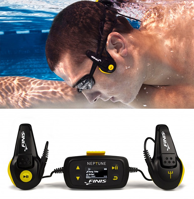 FINIS Neptune Underwater MP3 Player at werd.com