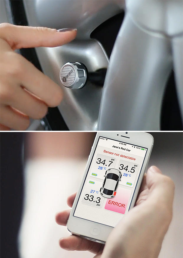 FOBO Bluetooth Tire Pressure Monitoring System at werd.com