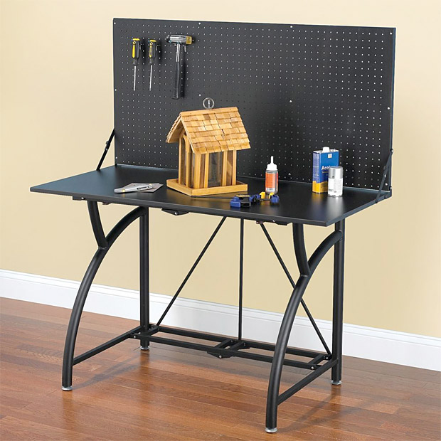 Foldaway Workbench at werd.com