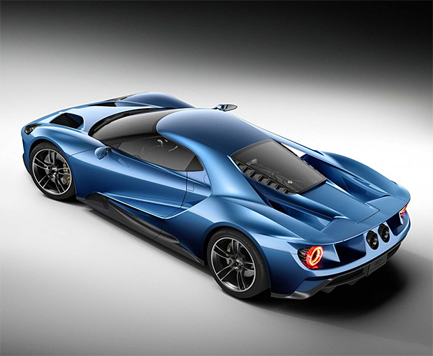 New Ford GT at werd.com