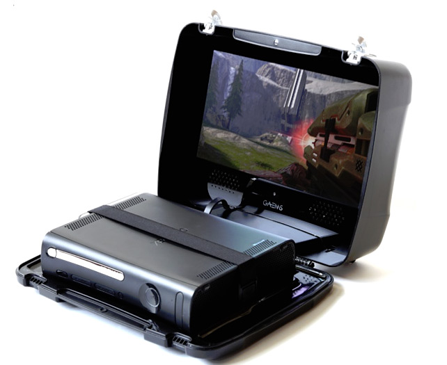 GAEMS Gaming Suitcase at werd.com