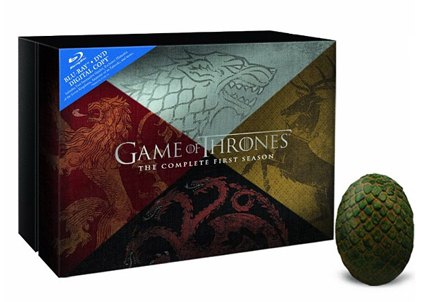 Game of Thrones: The Complete First Season Blu-ray at werd.com
