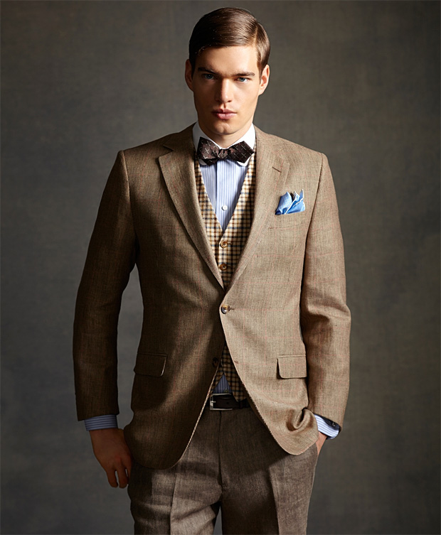 The Gatsby Collection by Brooks Brothers at werd.com