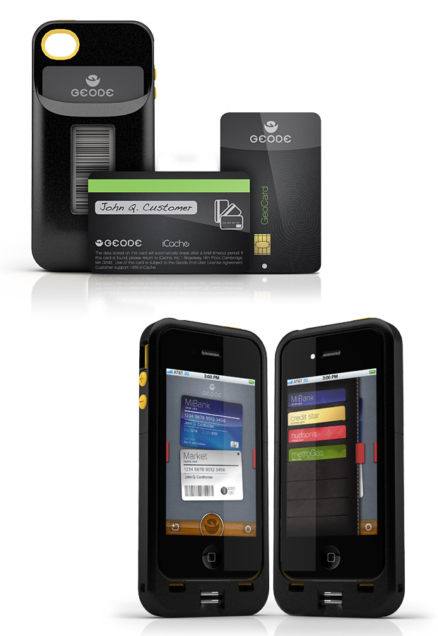 iCache Geode Digital Wallet at werd.com