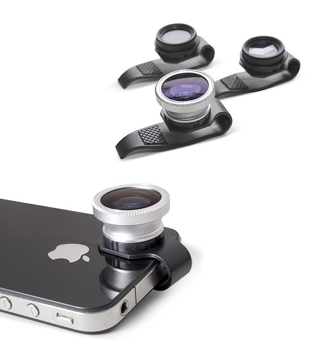 Gizmon Clip-On Lenses at werd.com