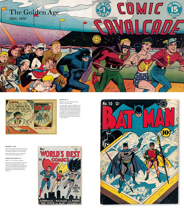 The Golden Age of DC Comics at werd.com
