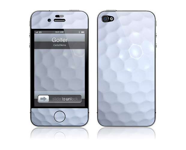 Golfer iPhone Skin at werd.com
