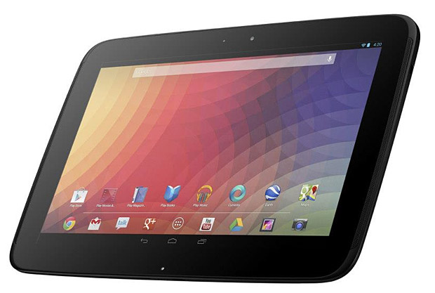 Google Nexus 10 at werd.com