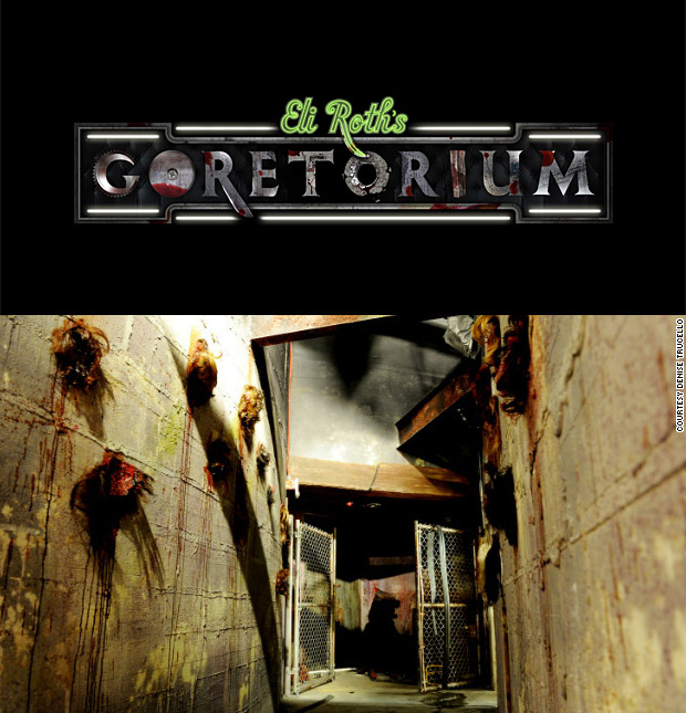 Eli Roth's Goretorium at werd.com