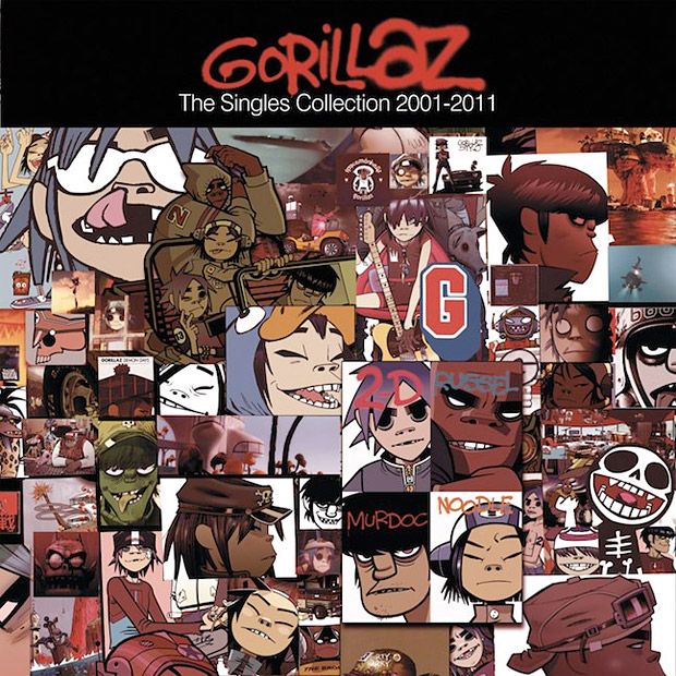 Gorillaz: The Singles Collection: 2001-2011 at werd.com