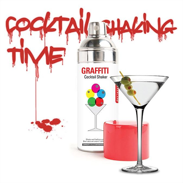 Graffiti Cocktail Shaker at werd.com