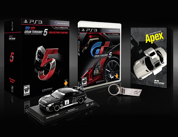 Gran Turismo 5 Collector's Edition at werd.com