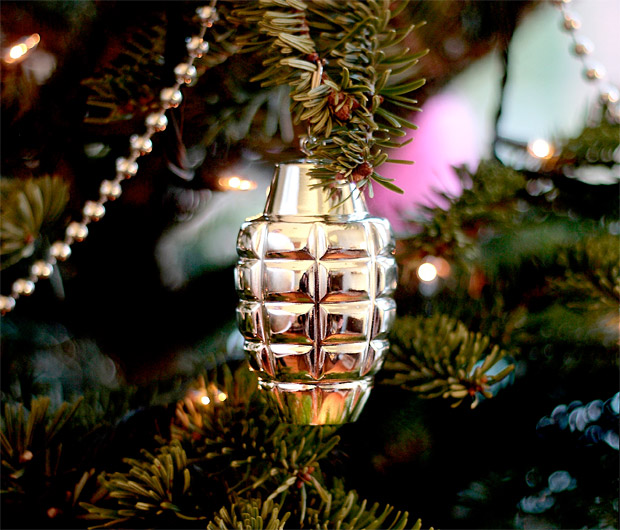 Grenade Ornaments at werd.com