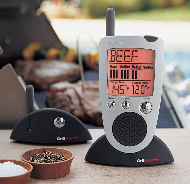 Grill Alert Talking Remote Meat Thermometer at werd.com