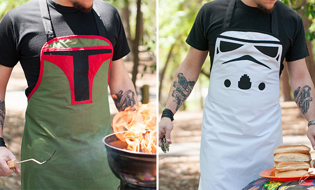 Grillin Villain Aprons at werd.com