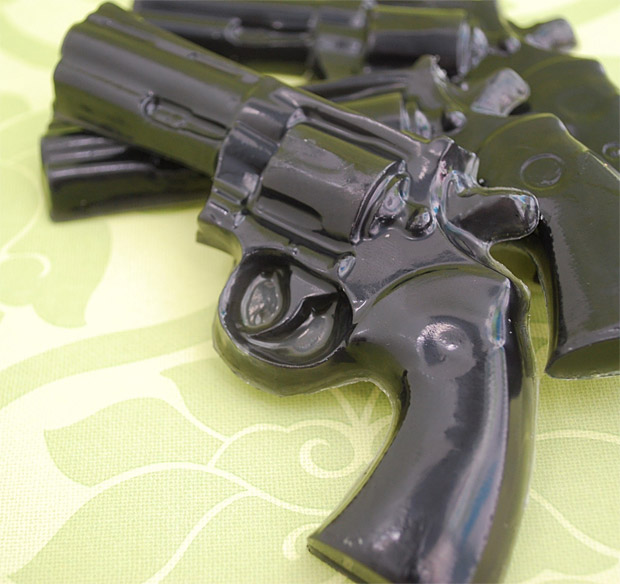 Gun Soap at werd.com