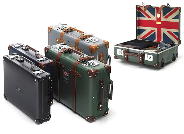 Globe-Trotter x Hackett Luggage at werd.com