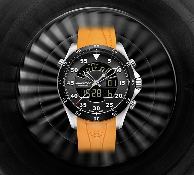 Hamilton Khaki Flight Timer at werd.com