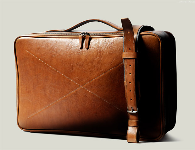 Hard Graft CarryOn Suitcase at werd.com